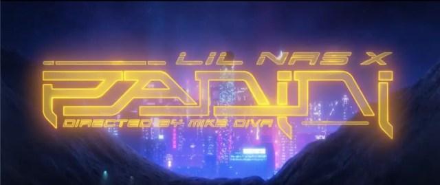 Lil Nas X Panini Cyberpunk Music Video