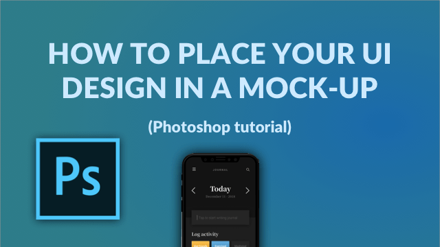 Place UI Design in mockup