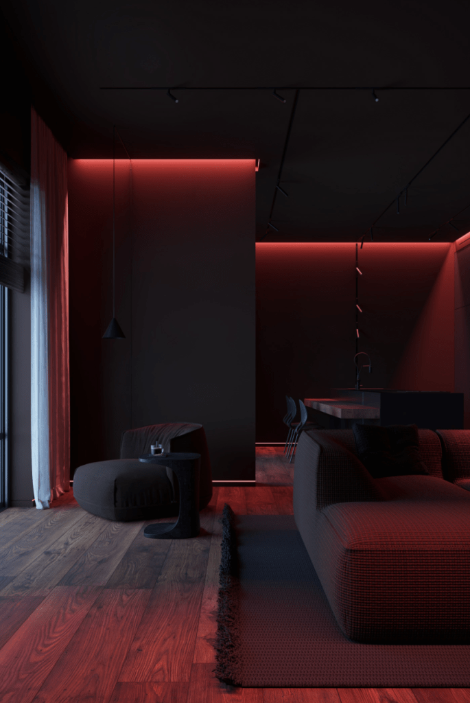 Neon Interior Home Lightening