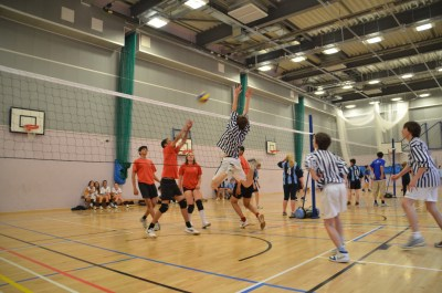 Wenlock Olympian Games Volleyball