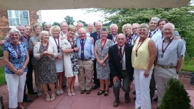 Worfield Medalists - a fine crowd