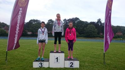 Individual Year 7 Girls Gold: Ava Martin Silver: Isobel Martin Bronze: Holly Briscoe