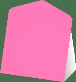 Roze wenskaart enveloppen