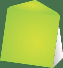 Wenskaart enveloppen