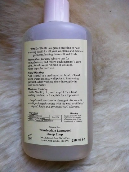 Woolly Wash back