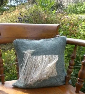 Wensleydale Sheep Cushion