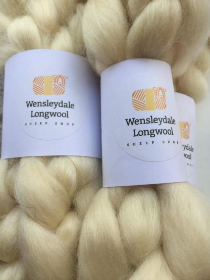 Wensleydale Combed Tops_Natural