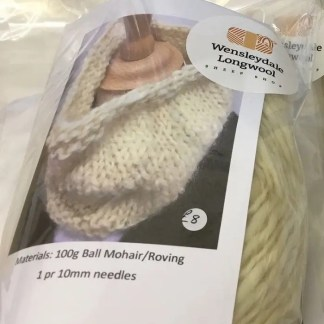 Sheep Shop Ossett Cowl knitting kit