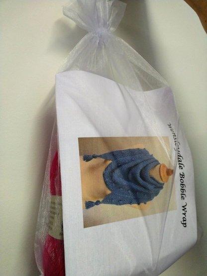 Wensleydale Bobble Wrap Knitting Kit