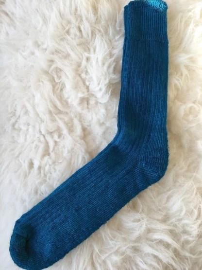 Sheep Shop mohair socks teal