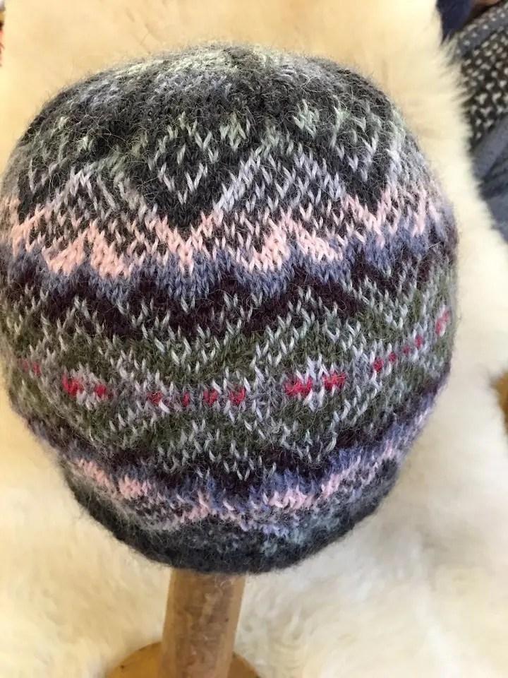 0ca82005 Wensleydale Nona Hat 4 Ply Knitting Kit | Wensleydale Longwool Sheep ...