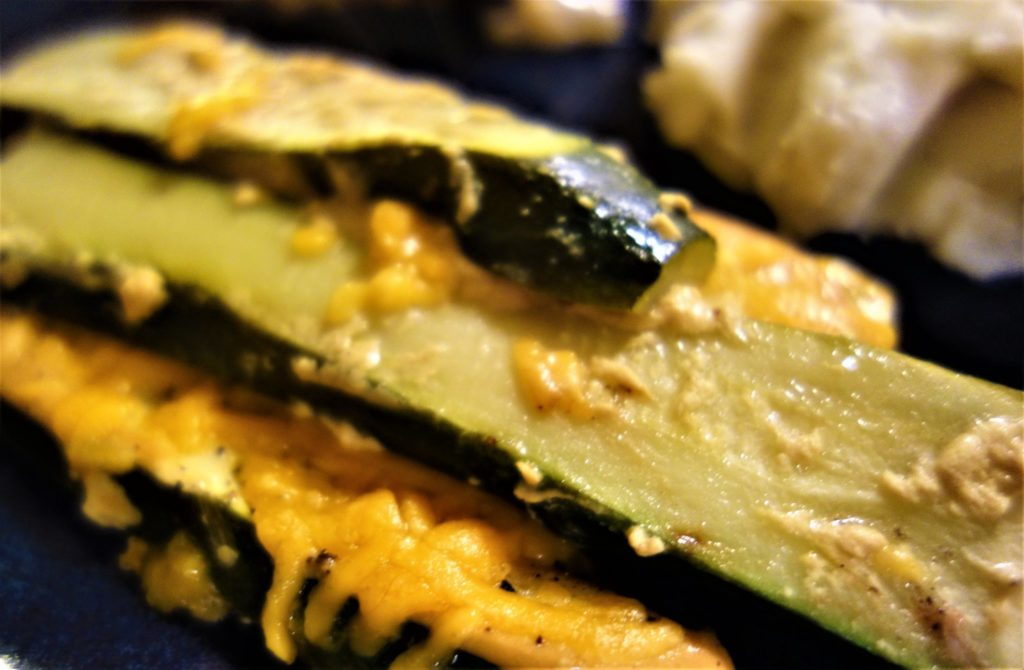 Zucchini and Summer Squash with Mustard Sauce