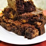 rolo brownies
