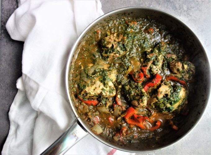 recipe: saag chicken recipe [34]