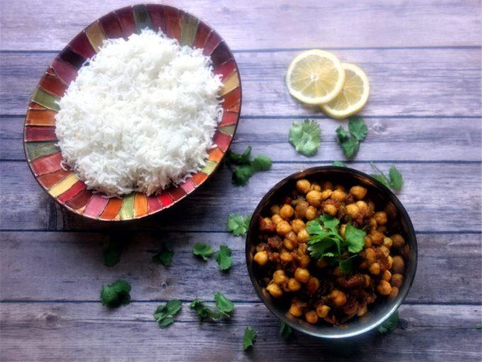 CHANA MASALA - Nothern India Style