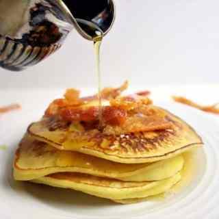 Amazing Orange Buttermilk Ricotta Pancakes