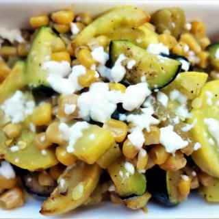 New Mexican Style Calabacitas (Sauteed Squash and Corn)
