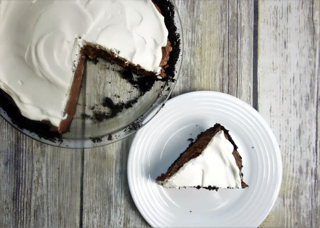 Chocolate Fluff Pie with Oreo Crust