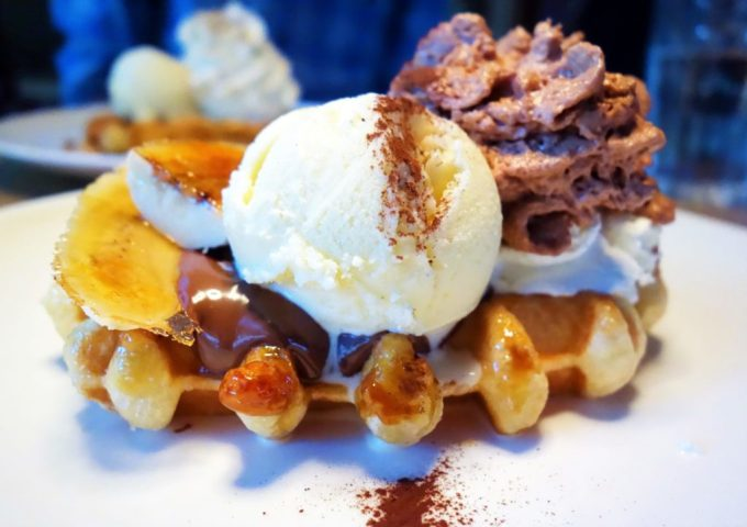 Checking out the Belgian Waffle Scene in Vancouver