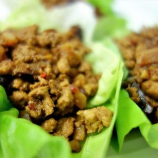 Healthy Asian Style Chicken Lettuce Wraps