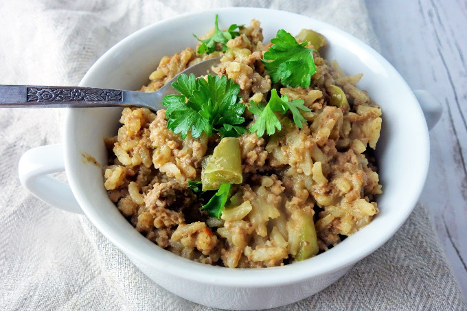 Easy to Make Classic Cajun Style Dirty Rice