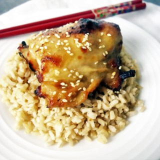 Easy Slow Cooker Teriyaki Chicken Thighs