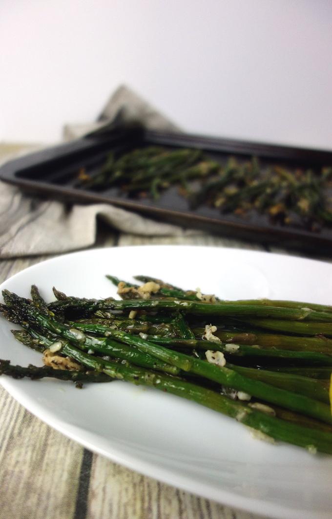 Easy Parmesan Roasted Asparagus Recipe
