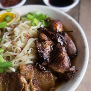 Crispy Instant Pot Caramelized Pork Ramen