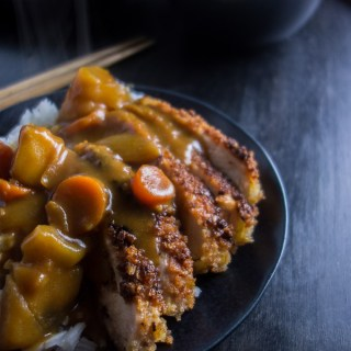 Easy Chicken Katsu Curry Don
