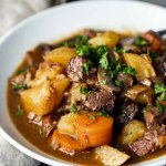 Dutch Oven Beef Stew Went Here 8 This