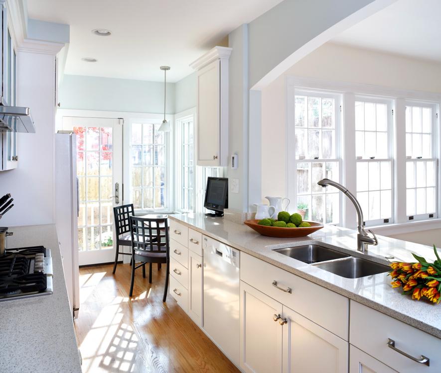 Galley Kitchen Remodeling In Nw Washington Dc Kitchen