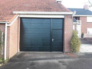 geplaatste garagedeuren