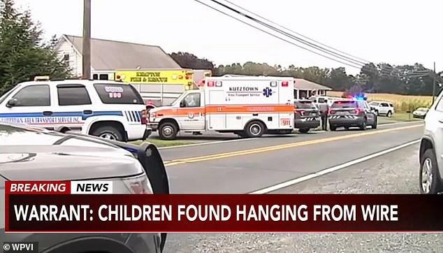 美國一母親回家,發現8歲兒子和4歲女兒雙雙吊死在家中地下室
