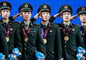 世界軍運會收官:中國133金,問鼎第一(圖)