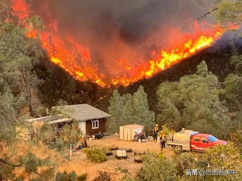 美國舊金山再起野火,煙霧席卷灣區,奧克蘭能見度僅0.25英裏