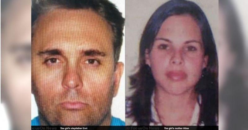皮雷斯47歲的繼父恩裏(Enri)和26歲生母艾琳(Aline)對宗教相當依賴。(圖/翻攝每日郵報)