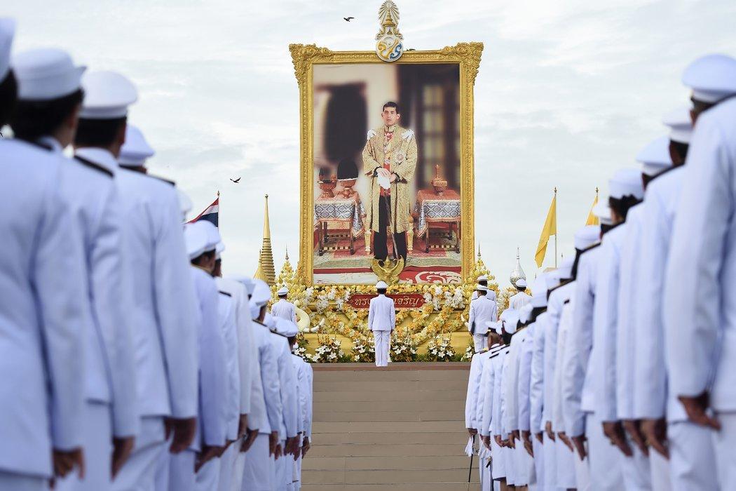 泰國總理巴育·占奧差7月在國王誕辰的慶祝活動上。