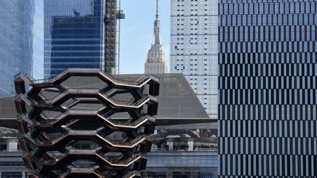 不久前启用的曼哈顿Hudson Yard房产项目接收了大量投资移民申请者的资金。