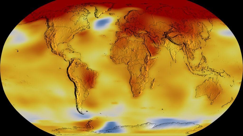 人类刚经历史上最热十年!NASA一段视频触目惊心(视)