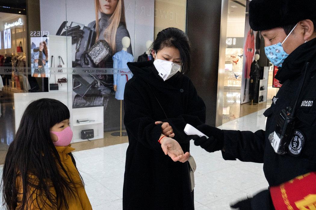 """纽时直击:新冠病毒疫情中的""""空城""""北京(组图)"""