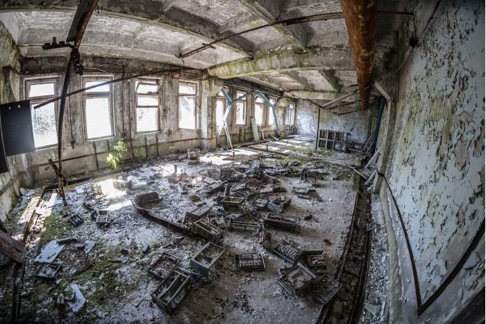 """切尔诺贝利核反应堆发现黑色真菌 """"吃""""辐射为生(图)"""