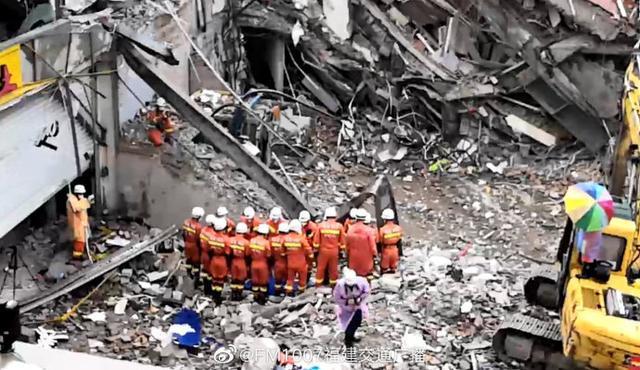 最後1人找到 泉州酒店坍塌致 29 死(圖)