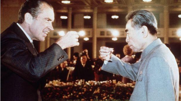 尼克松和周恩来