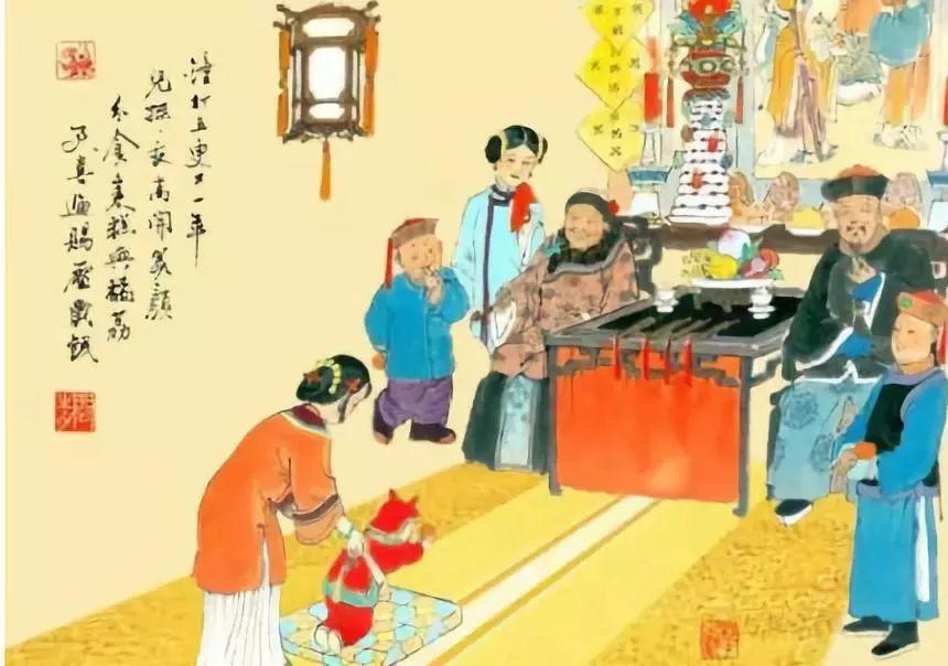 """""""红楼梦""""、""""金瓶梅""""...明清小说中的老北京过年密码"""