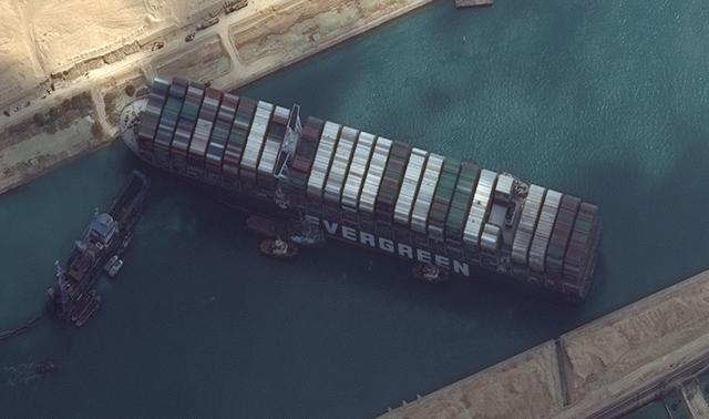 堵塞苏伊士运河 怎么赔偿?日本船东:没那么多钱