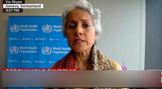 世卫首席科学家:印度实际感染人数可能高达 5 亿