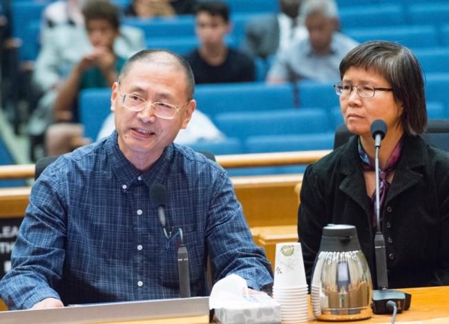 法庭战新闻发布会:一名华人在美国的维权之路