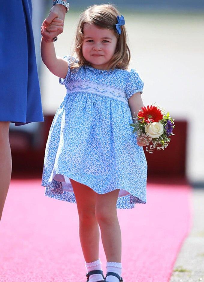 夏洛特公主颜值遭吐槽!6岁生日美照被说16岁