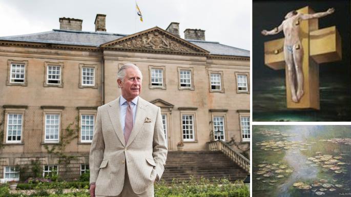 查尔斯王子豪宅中这幅值4.5亿画作 被指赝品(图)