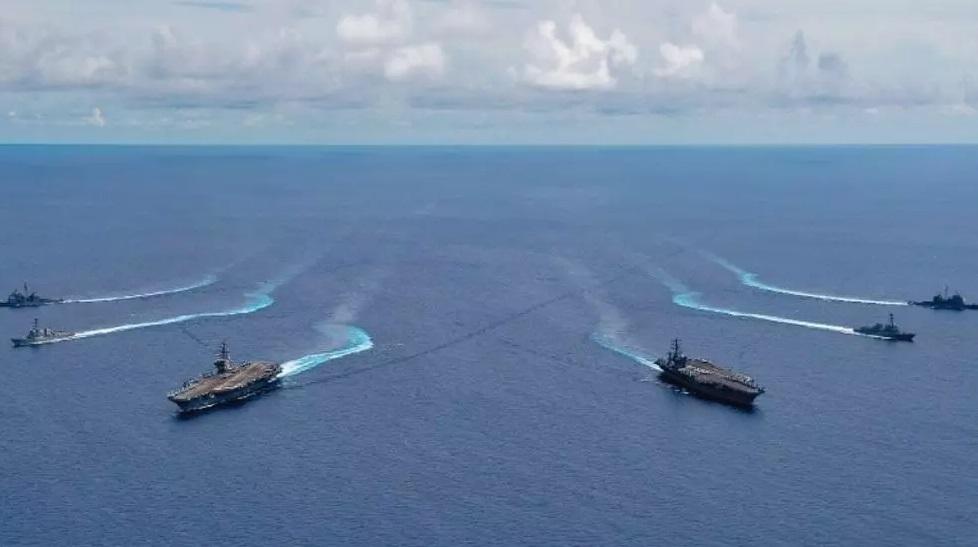 南海:何种危险能引发中美战争?紧张局势正上升